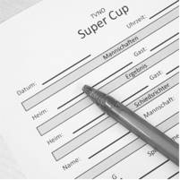 Spielberichtsbogen Super-Cup