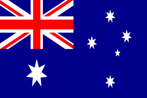 Mannschaftsfoto für Australien