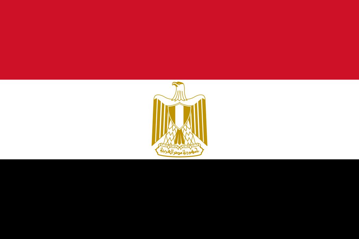 Mannschaftsfoto für Ägypten