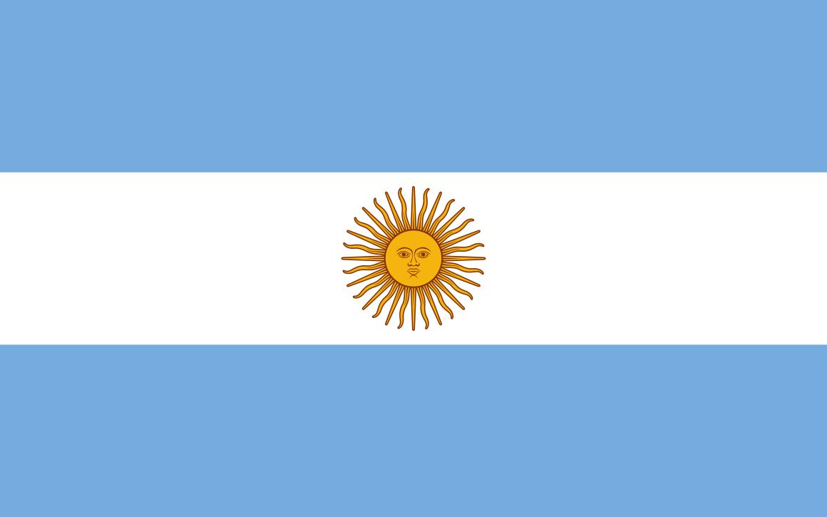 Mannschaftsfoto für Argentinien