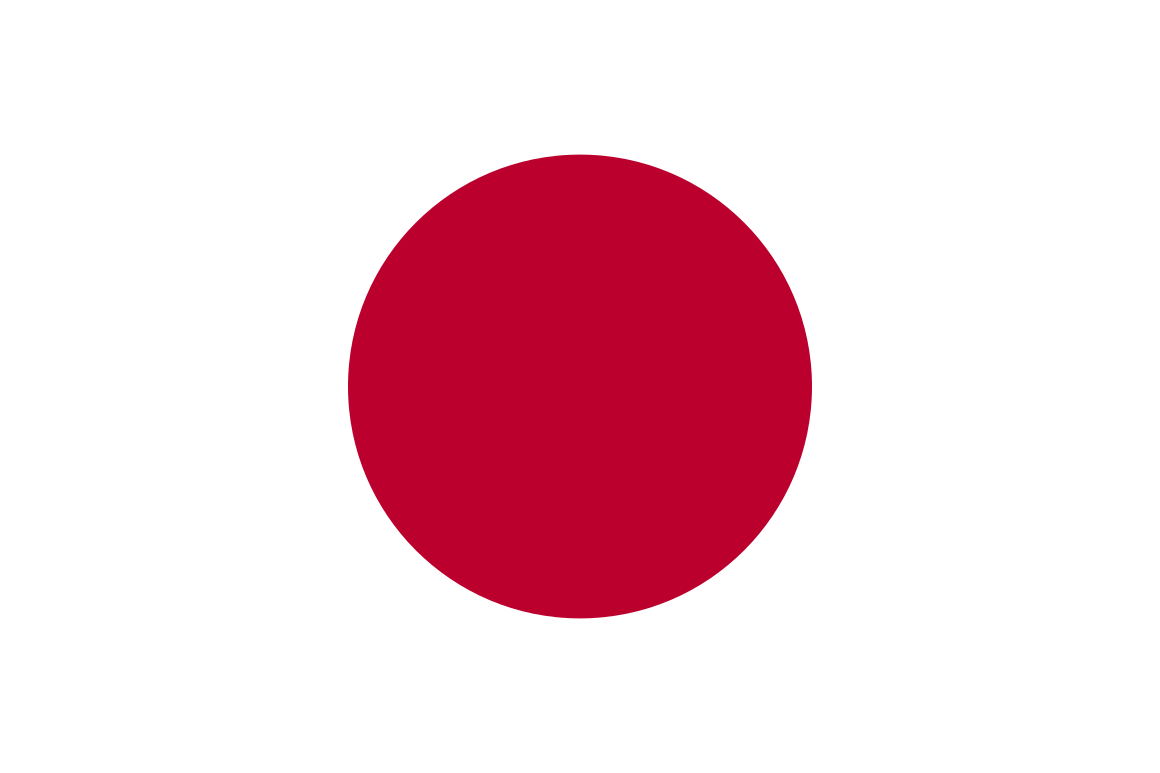 Mannschaftsfoto für Japan