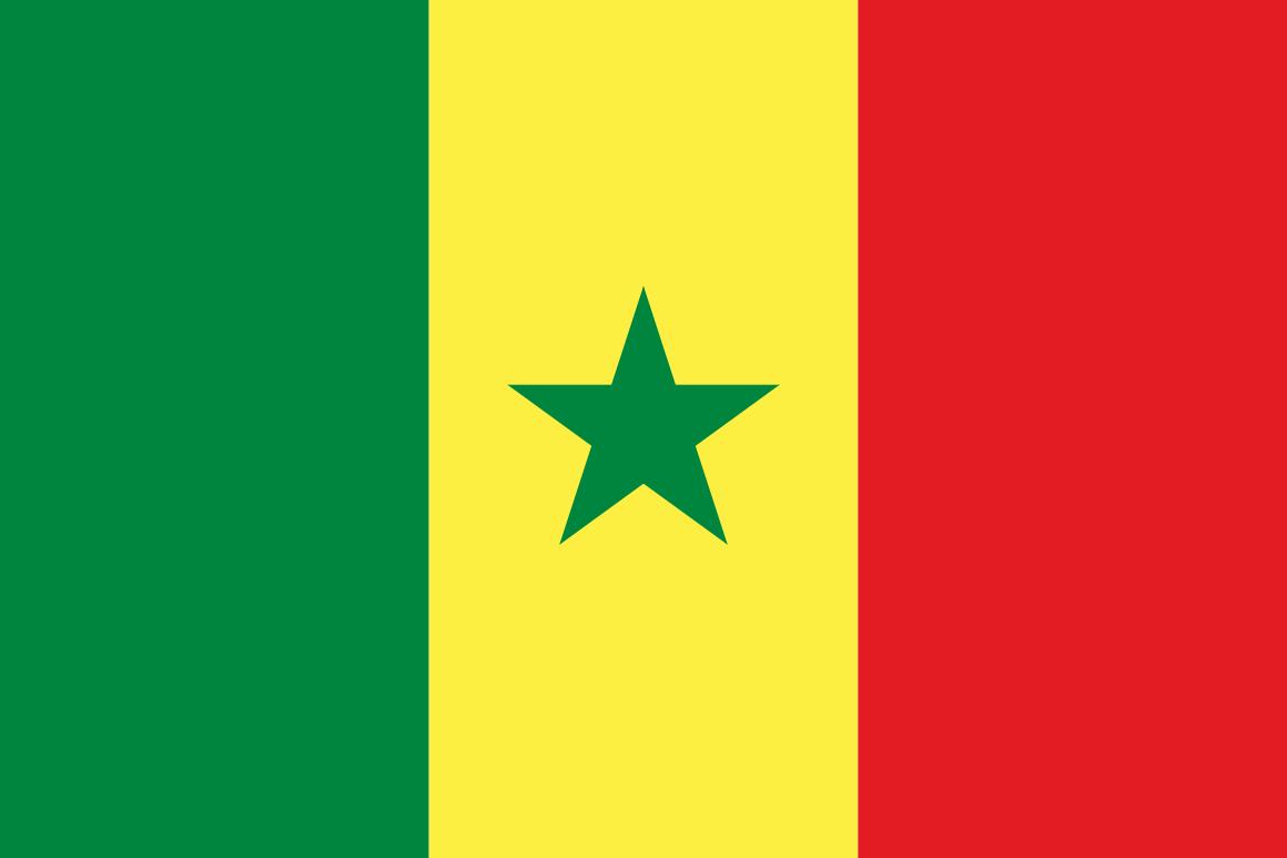 Mannschaftsfoto für Senegal