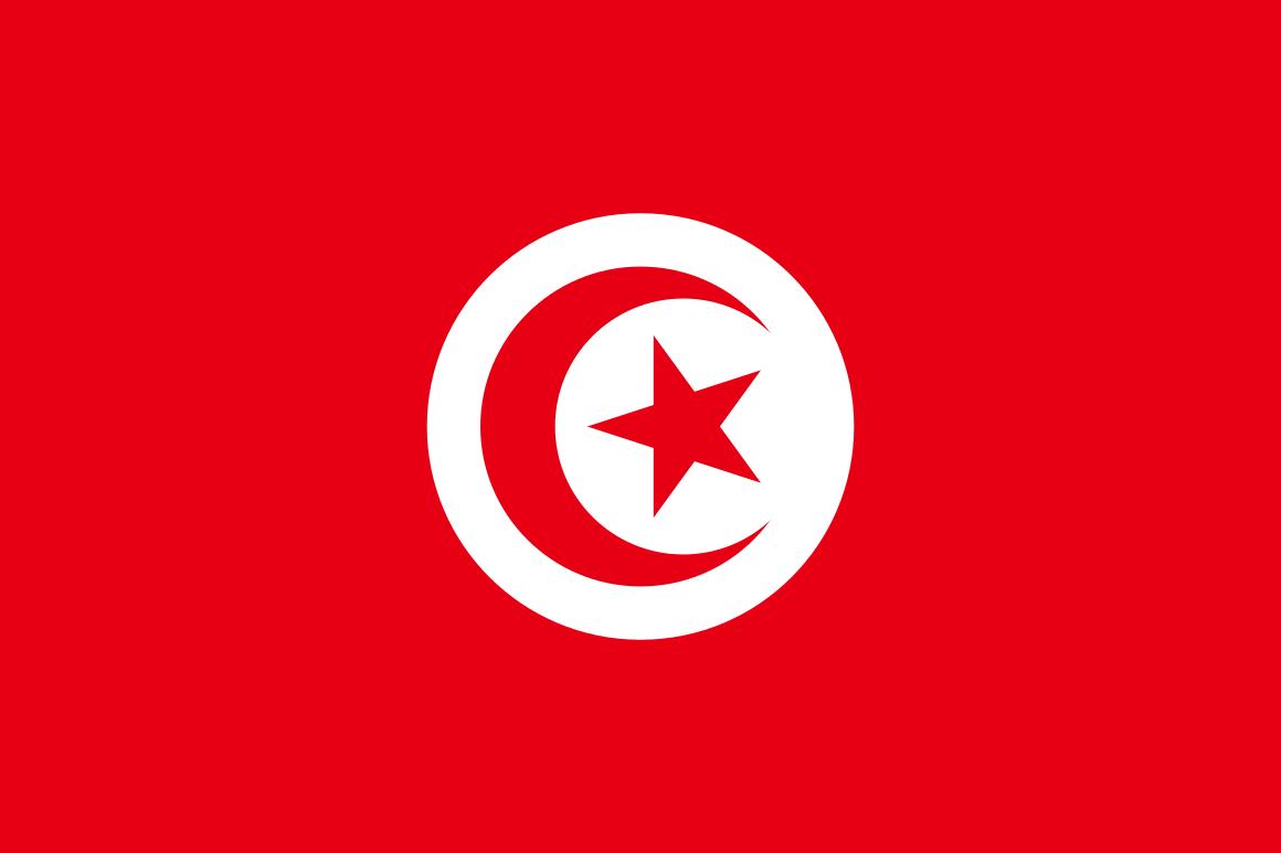 Mannschaftsfoto für Tunesien