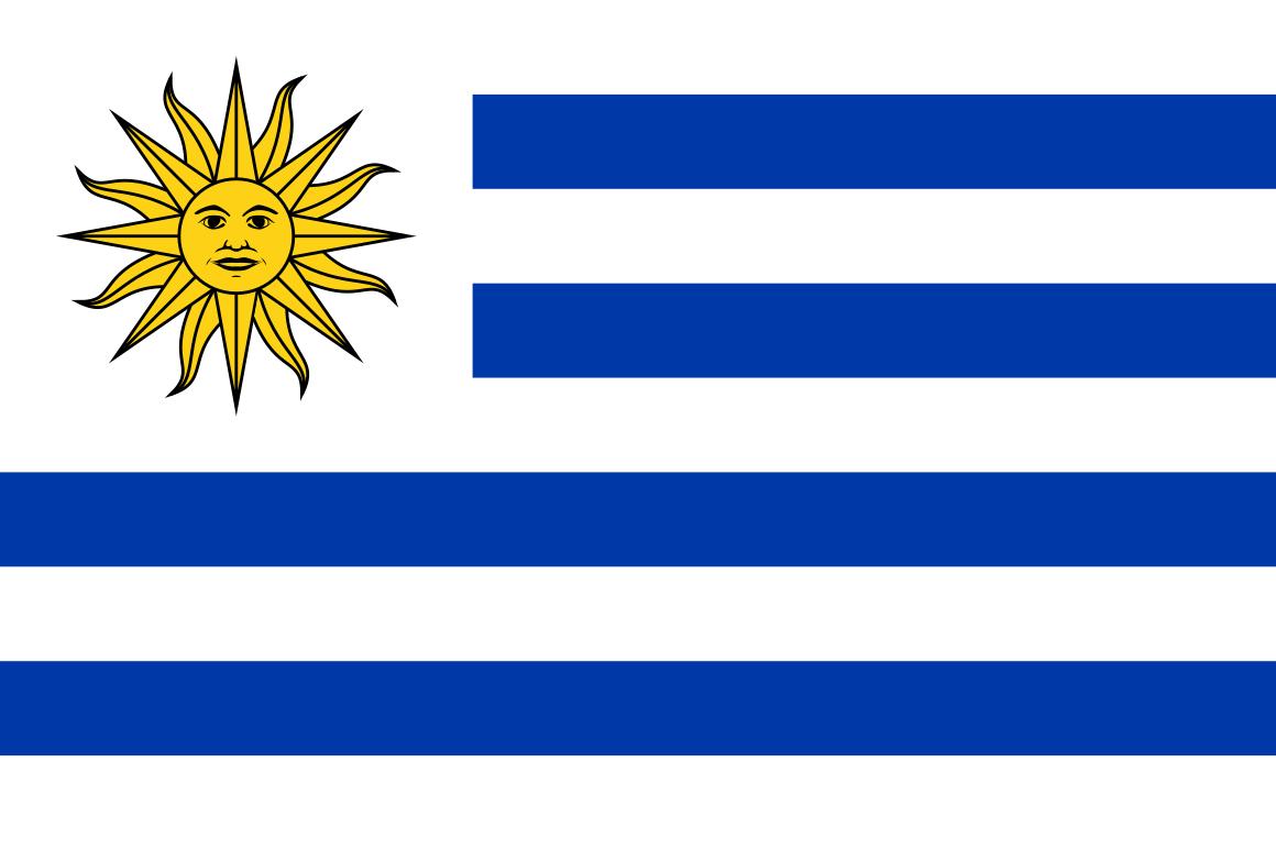 Mannschaftsfoto für Uruguay