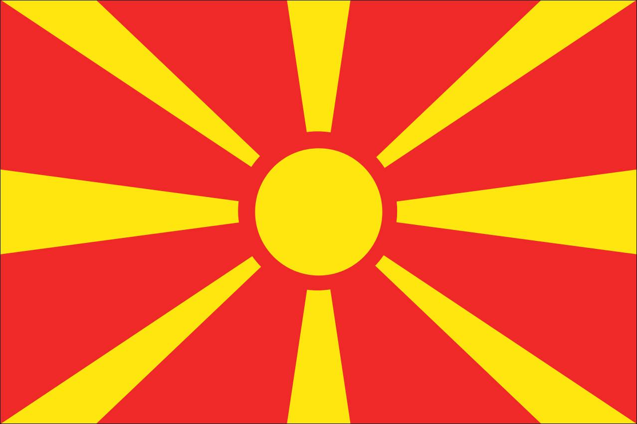 Mannschaftsfoto für Nordmazedonien
